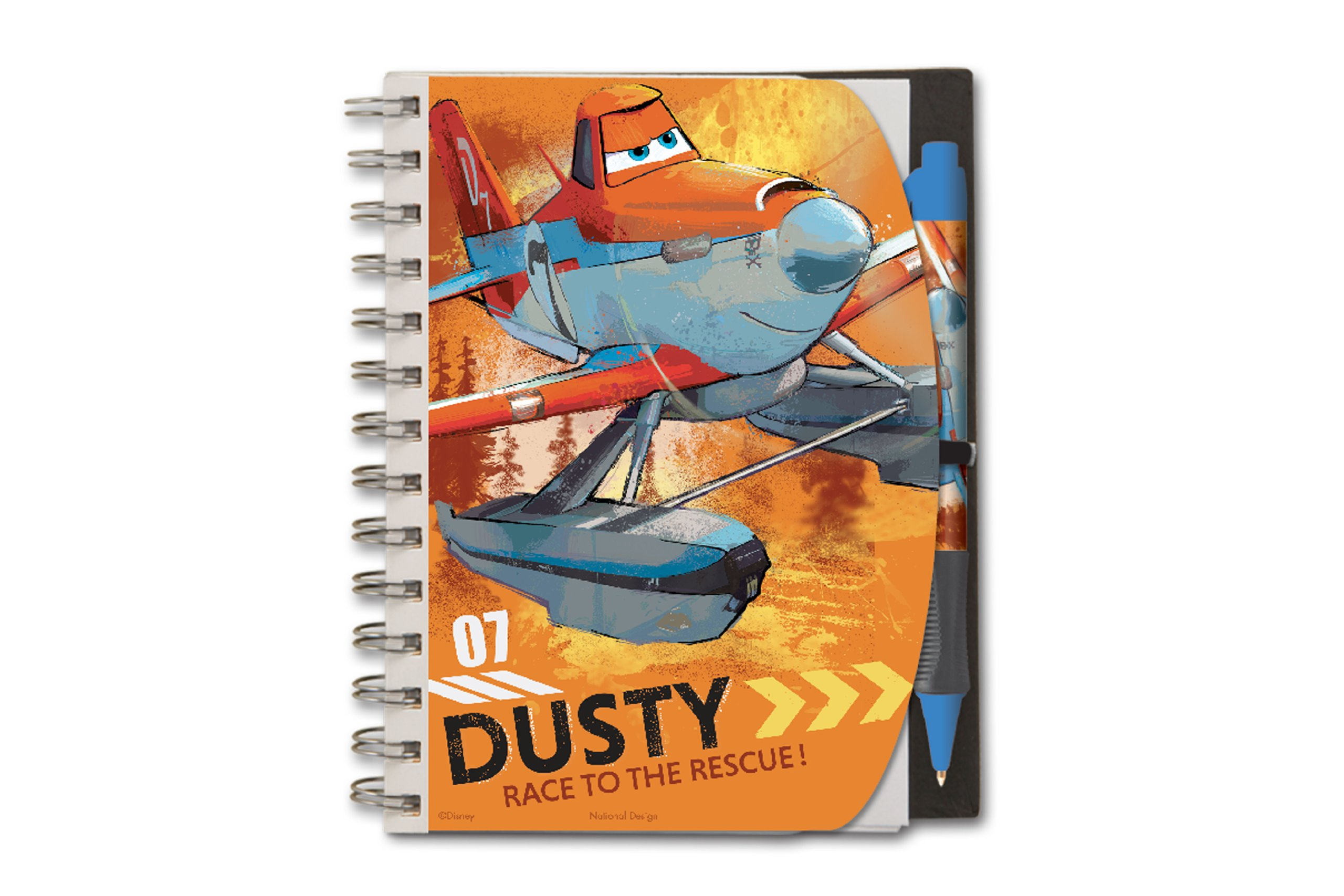National Design Disney Planes Deluxe 5 x 7'' Notebook and Pen Set by National Design