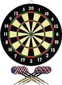 TG Champion Tournament Bristle Dartboard (Multicolor, 18 x 1.5-Inch)