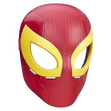 Spider-Man Marvel Ultimate máscara de Hierro araña
