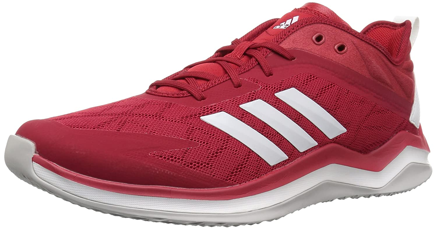 - adidas Men's Speed Trainer 4 Baseball chaussures, Power rouge Crystal blanc Scarlet, 18 M US