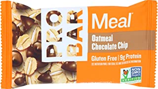 product image for Probar Meal Oatmeal Chocolate Chip Bar, 3 Ounce (Pack of 12)