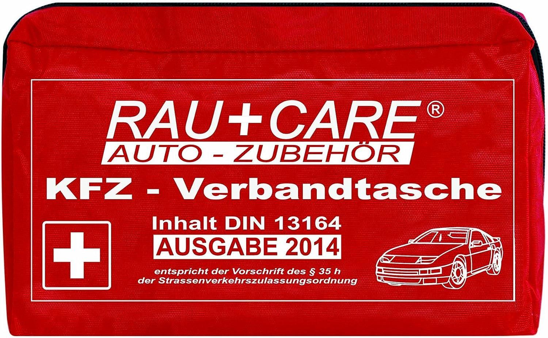 Rfx Care Eh0004 Kfz Verbandtasche Rot Inhalt Nach Din 13164 35h Stvzo Auto