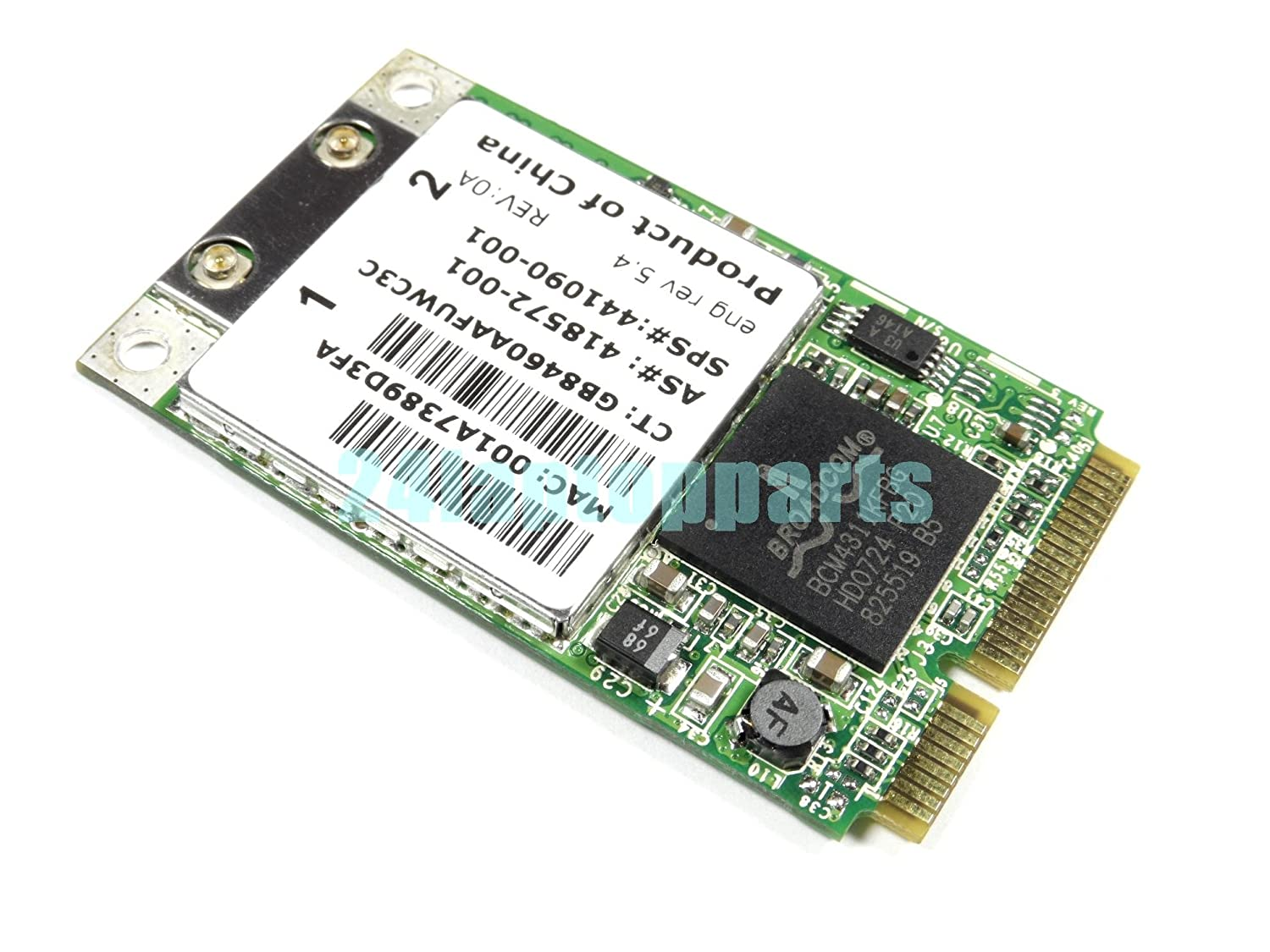 broadcom netxtreme bcm5750f fast ethernet controller