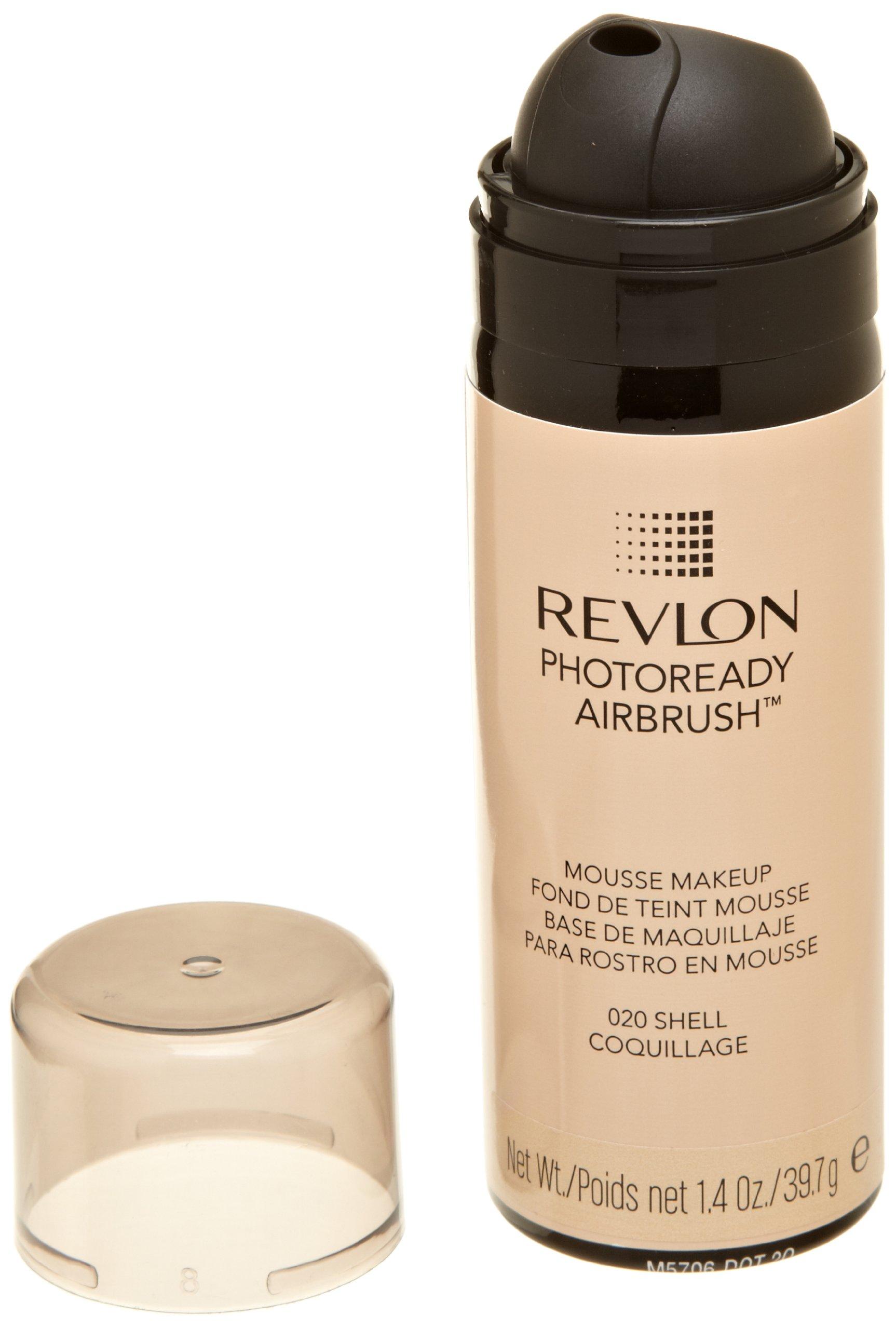 revlon photoready airbrush mousse makeup nude 1 4 ounce foundation makeup beauty. Black Bedroom Furniture Sets. Home Design Ideas