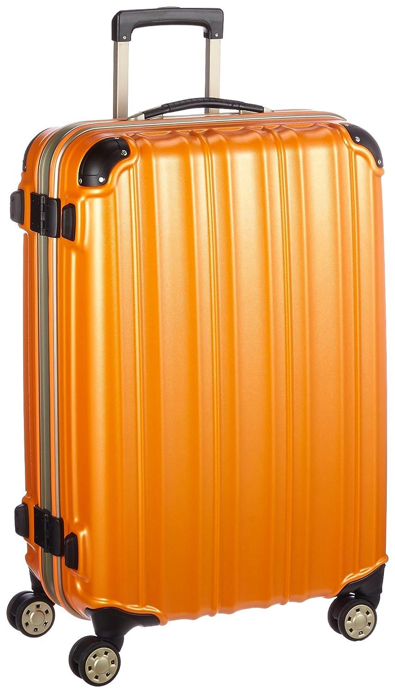 (ビータス) Beatas スーツケース TSAロック軽量アルミフレーム ビータスBH-F2000【一年修理保証】SUITCASE B00PV8CB5I S|エンボスオレンジ エンボスオレンジ S
