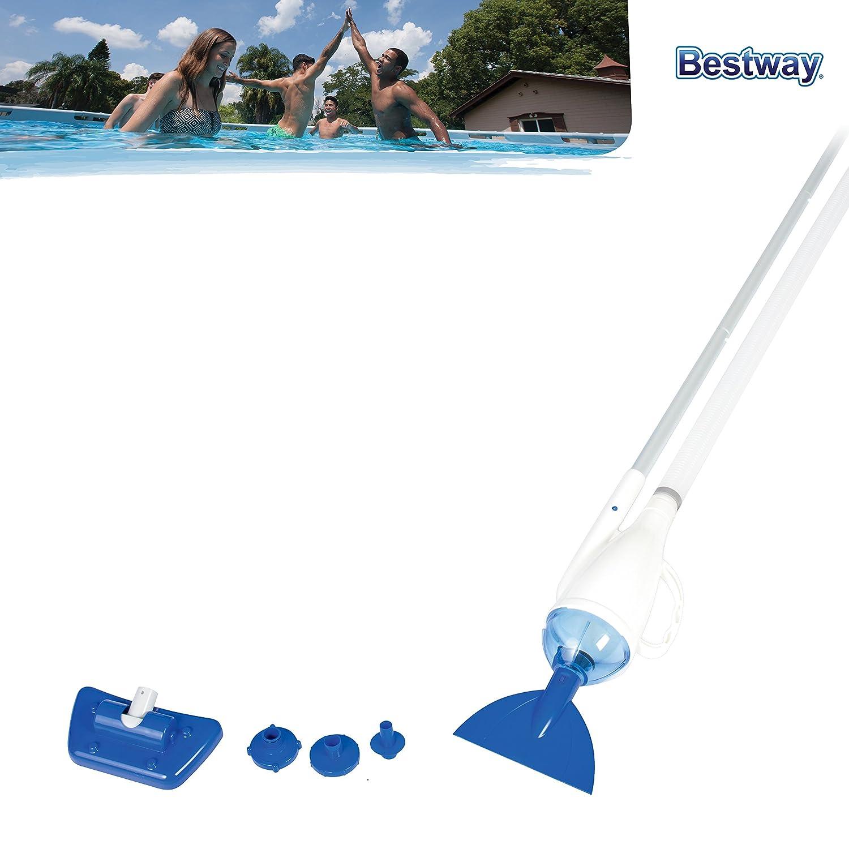 Bestway 58212 - Dispositivo de limpieza por vacío de la piscinas de menos de 4, 57 m: Amazon.es: Jardín