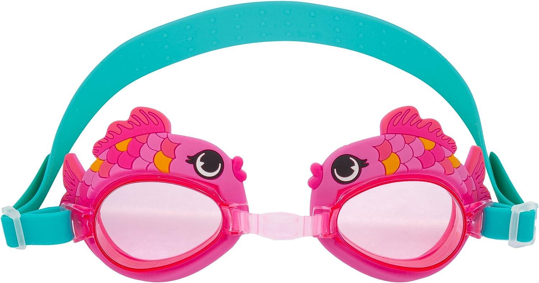 Stephen Joseph Swim Goggles, Pink Fish