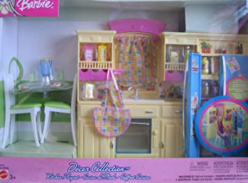 Barbie Decor Collection Kitchen Playset Multi Lingual Box 2003