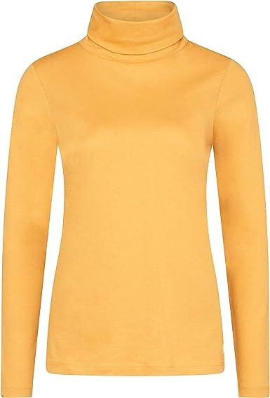 Marc OPolo Camiseta Cuello Alto para Mujer: Amazon.es: Ropa y accesorios