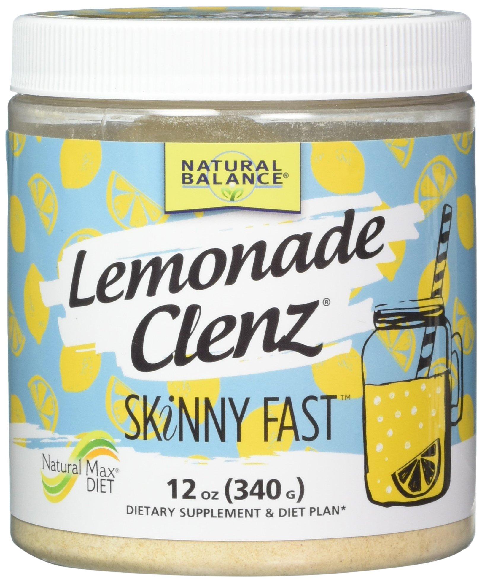Natural Balance Lemonade Clenz, Pink, Lemon, 12 Ounce