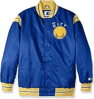 Amazon.com   Mitchell   Ness NBA Nothing But Net Warm Up Jacket ... f73fad0b7
