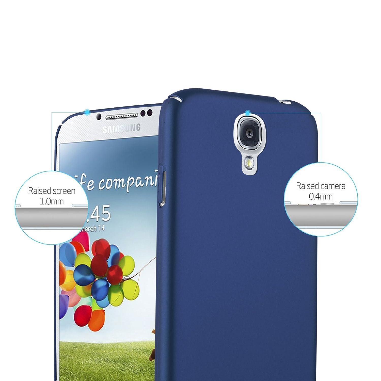 bd42318e4e0 Cadorabo Funda para Samsung Galaxy S4 en Metal Azul: Amazon.es: Electrónica