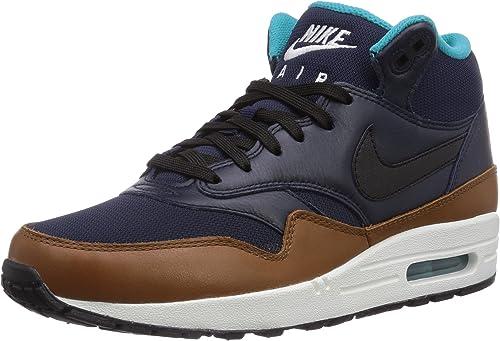 Nike Air Max 1 Mid Fb 685192 001 Herren High Top Sneaker 45