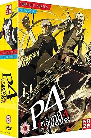 persona 4 the animation complete season box set episodes 1 25