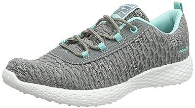 Gola Tempe, Zapatillas Deportivas para Interior para Mujer, Gris (Grey/Mint), 39 EU