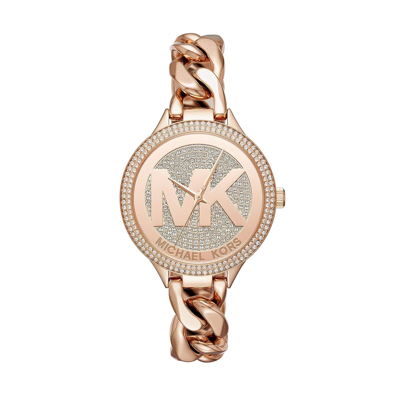 migliore qualità negozio online negozio online Amazon.com: Michael Kors Women'sRose Gold-Tone Watch MK3475 ...