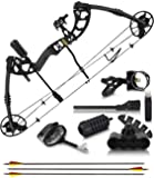 2020 Compound Bow and Arrow for Adults and Teens – Hunting Bow with Gordon Limbs Made in USA - Fully Adjustable for…