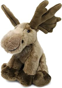 VIAHART Martin The Moose | 10.5 Inch (Including Antlers) Realistic Looking Stuffed Animal Plush | by Tiger Tale Toys