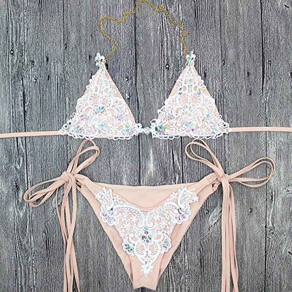 FAMILIZO Bikinis Trajes de baño Mujer 2018 Mujer Push up Bra Bikini Verano Tops y Braguitas Bikinis Conjuntos Bikini Mujer 2018 Ropa de baño Traje De Baño ...