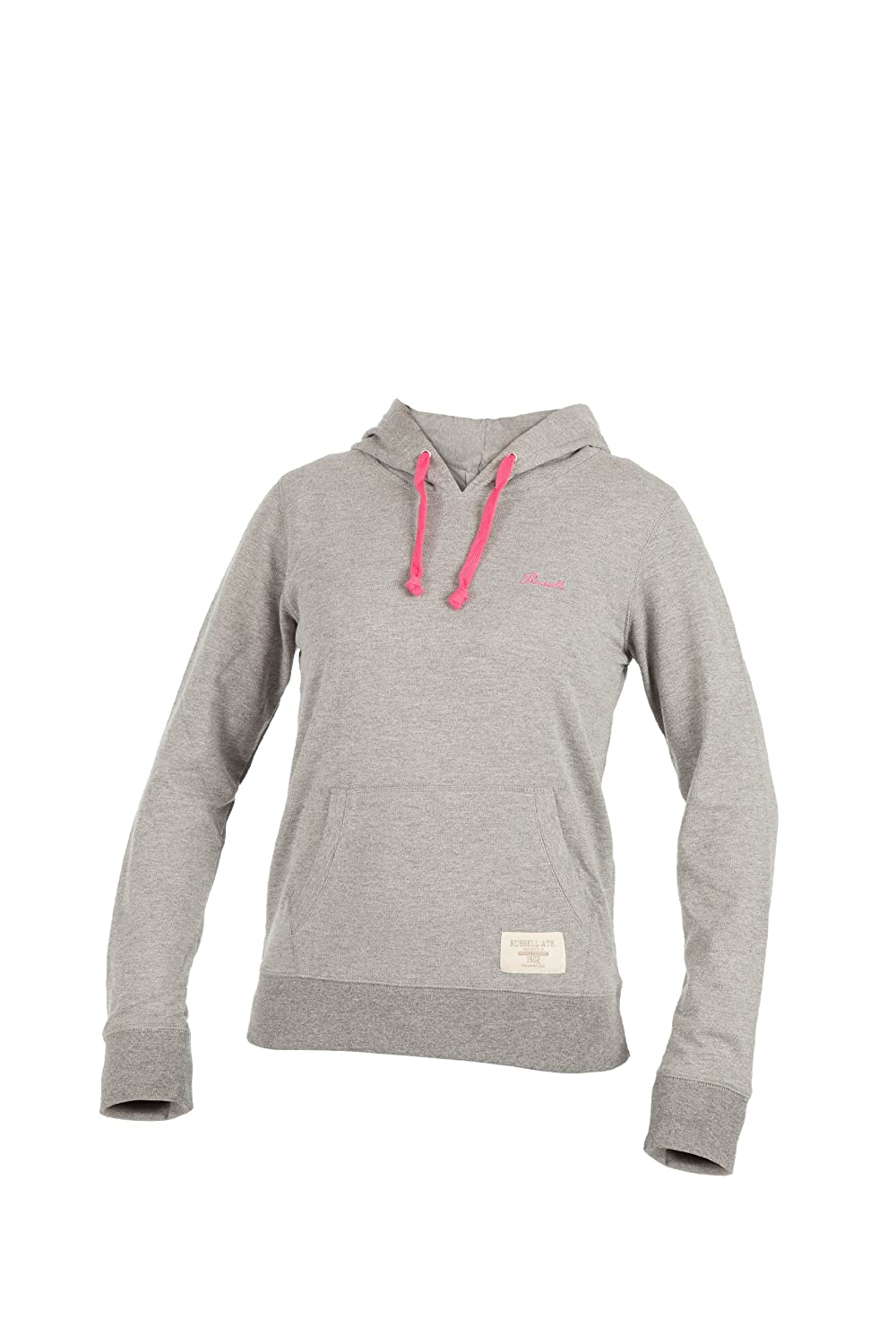 TALLA DE: XL. Russell Athletic Sweatshirt Hooded Pull Over - Punto Deportivo para Mujer