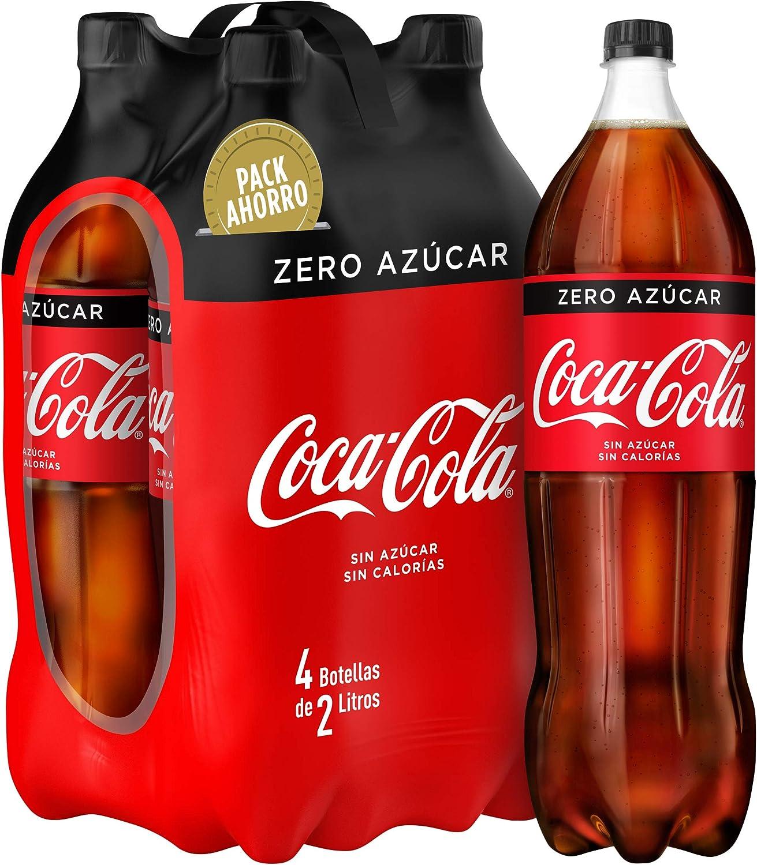COCA COLA zero pack 4 botellas 2 lt: Amazon.es: Alimentación y bebidas