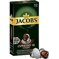 Jacobs Espresso 10 Intenso - Nespresso®* Compatible Aluminium Coffee Capsules - Pack of 10 Capsules (10 Drinks)