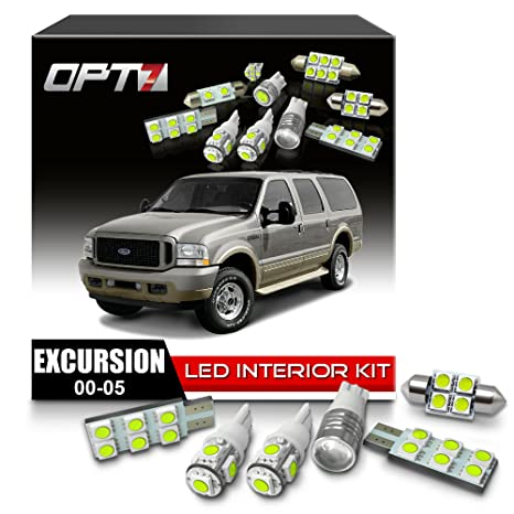 Opt Pc Interior Led Replacement Light Bulbs Package Set Kit For   Ford Excursion