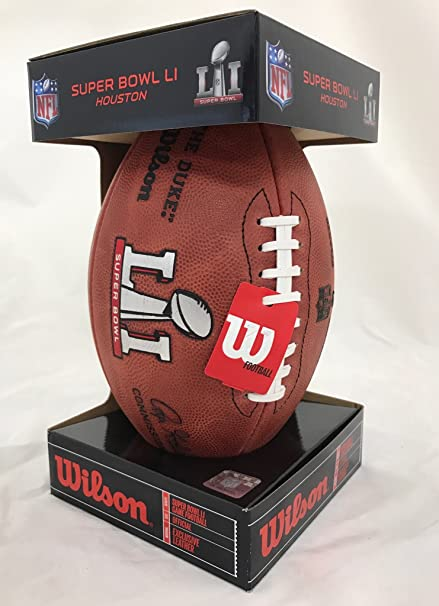 b3e7fd1c9 Image Unavailable. Image not available for. Color  Wilson Super Bowl 51  Game Football