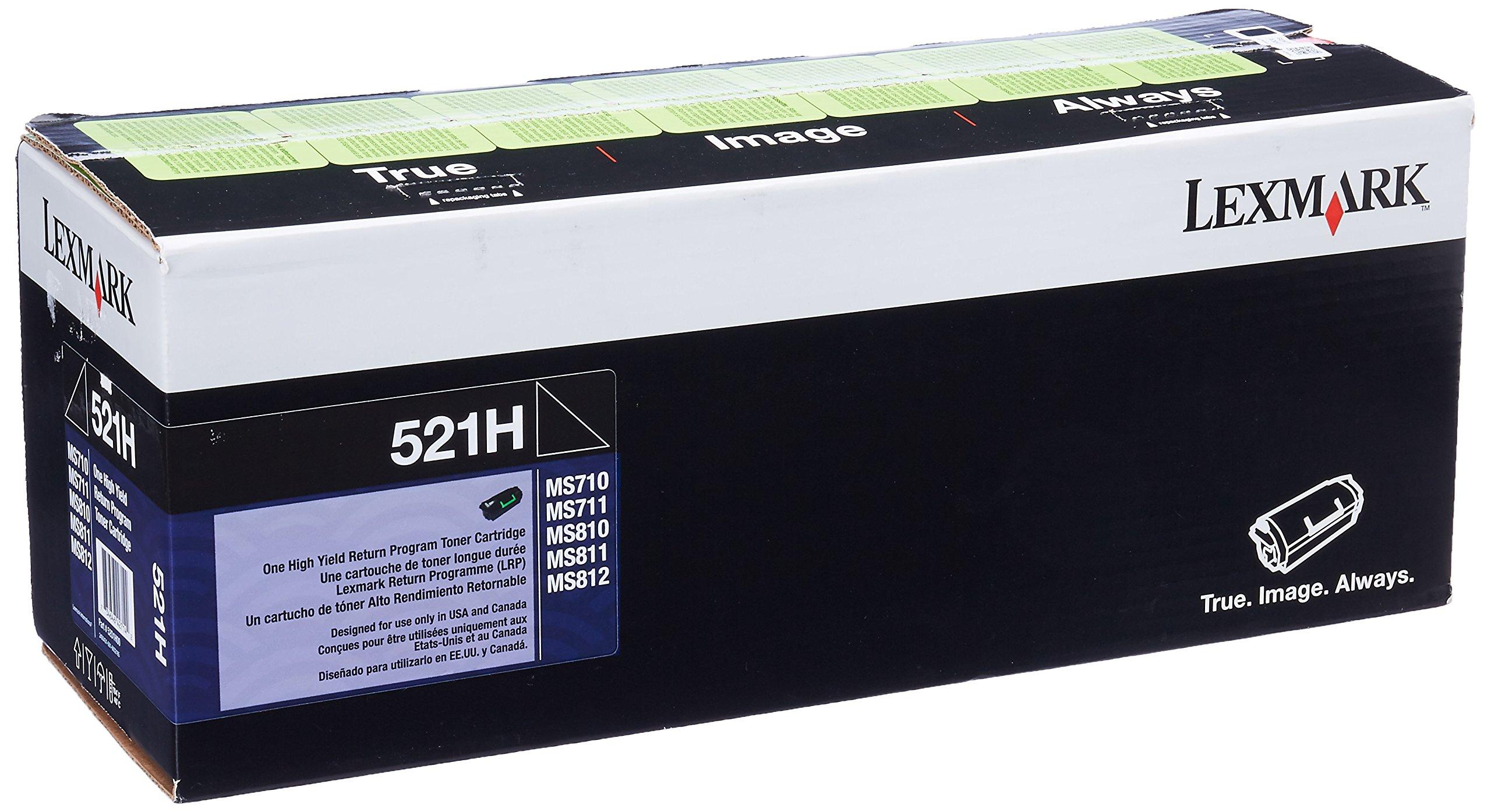 Lexmark 52D1H00 High Yield Return Program Toner