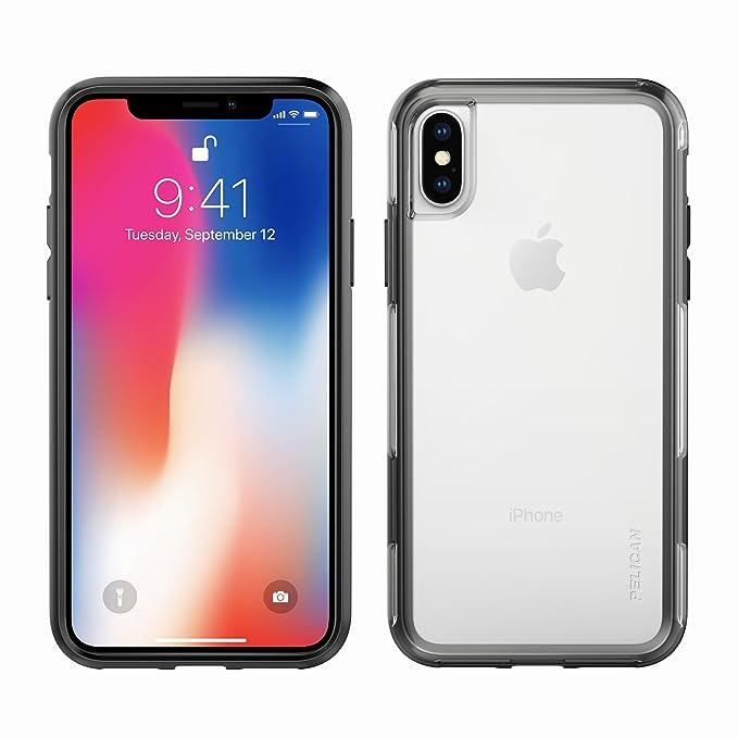 buy popular 0d68d 15e47 iPhone X Case | Pelican Adventurer iPhone Case X (Clear/Black)
