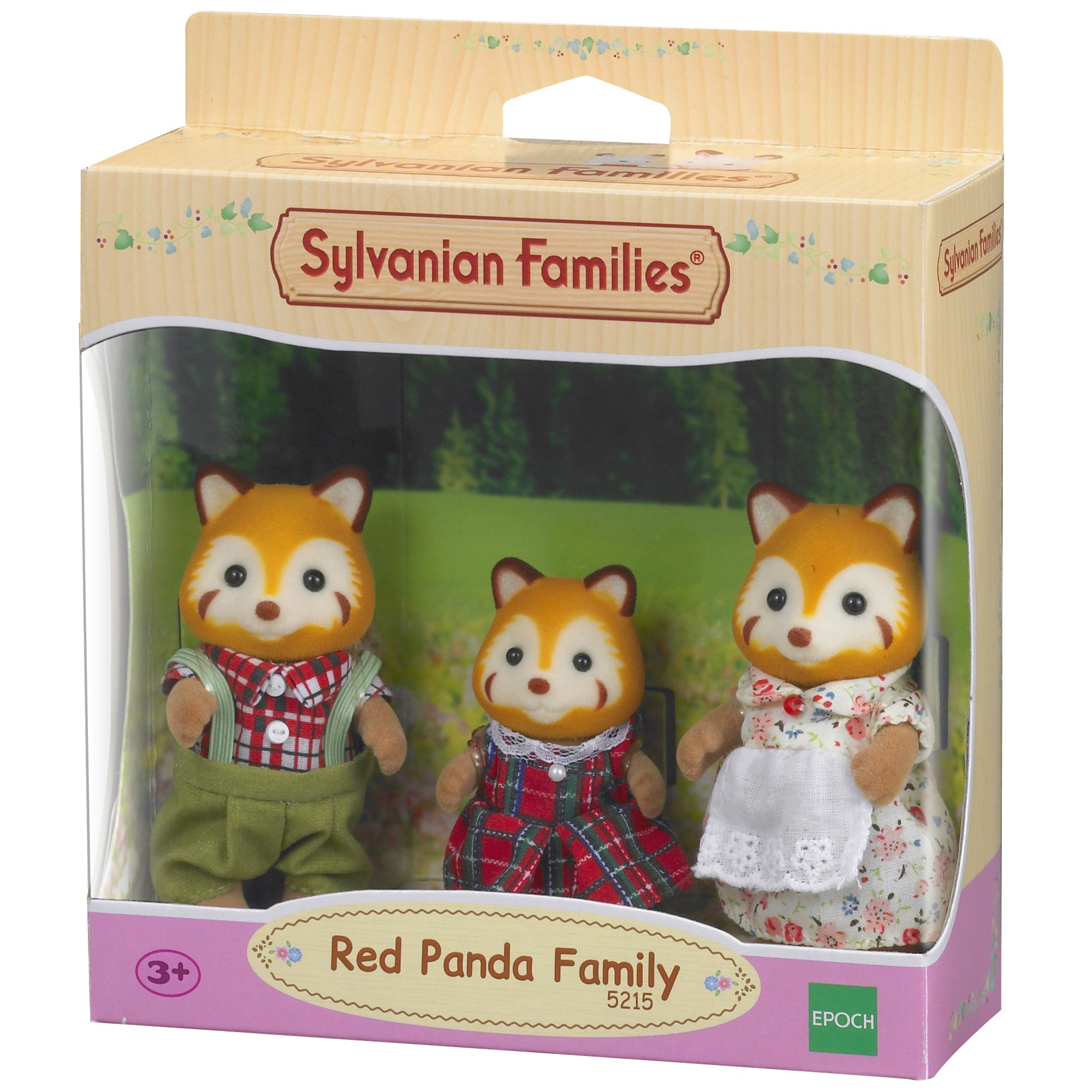 Sylvanian Families-5054131052150 Familia Pandas Rojos Epoch para Imaginar 5215 product image