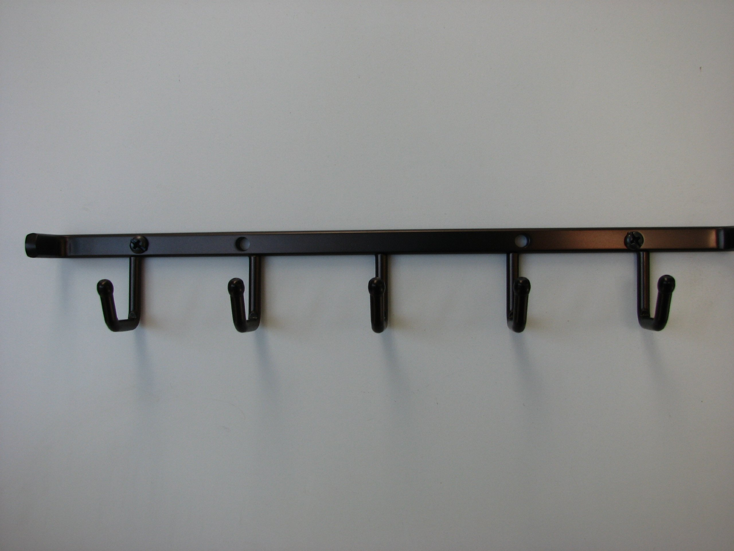Wall Mount Stationary Belt Rack / Necklace Organizer, Oil Rubbed Bronze 12''