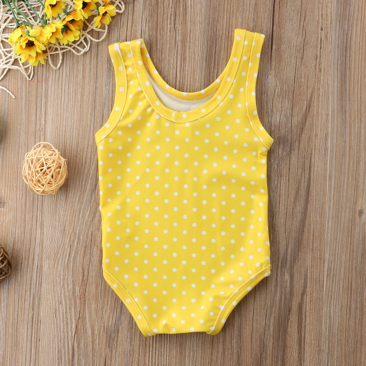 niceclould Summer Baby Girl Tassels Swimsuit Outfit Toddler Fruit Watermelon Bathing Suit Sunsuit Playsuit 0-3Y
