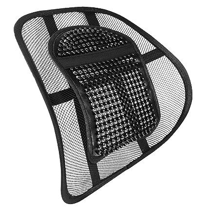 AMOS Sit Tight Sistema de Apoyo Lumbar de Malla Soporte de Espalda ...