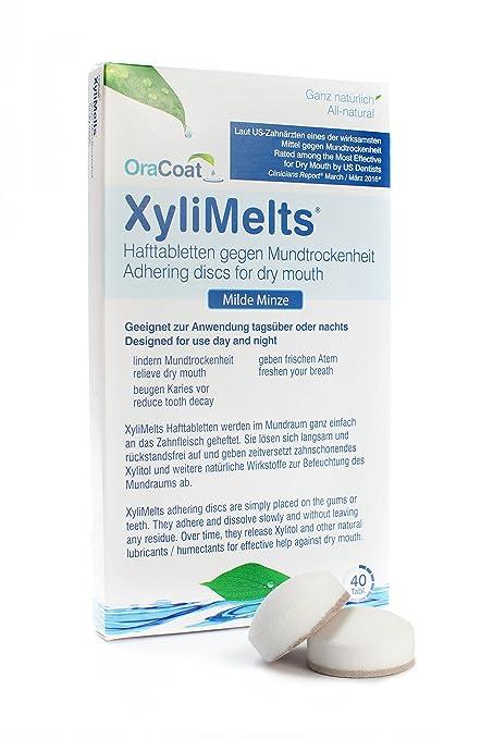 3 opinioni per OraCoat XyliMelts- 40 pastiglie adesive contro la carie e la secchezza orale –