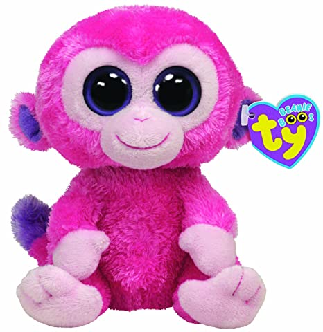 be9dcc5a812 Image Unavailable. Image not available for. Color  Ty Beanie Boos Razberry  Monkey