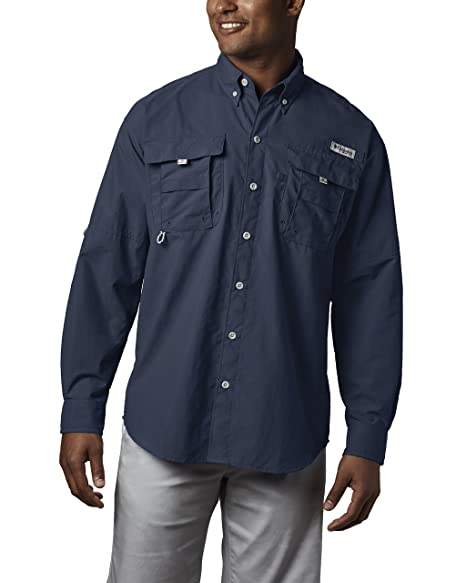 ee16c0636ce Image Unavailable. Image not available for. Color: Columbia Men's PFG  Bahama II Long Sleeve Shirt ...