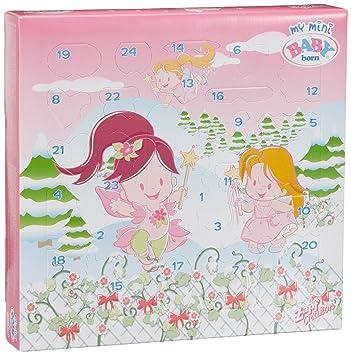 Zapf Creation 811238 My Mini Baby Born Adventskalender 2010