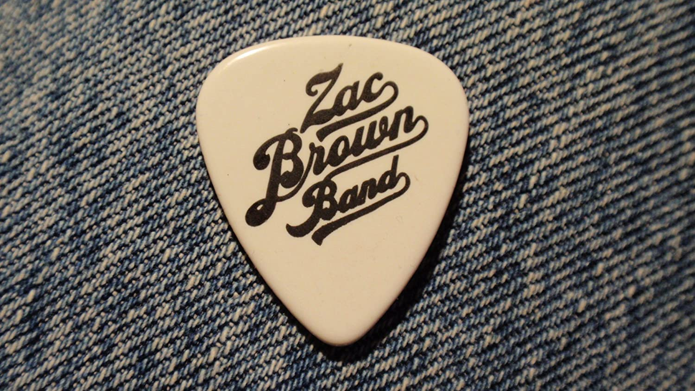 Amazon Zac Brown Band Guitar Pick Musical Instruments