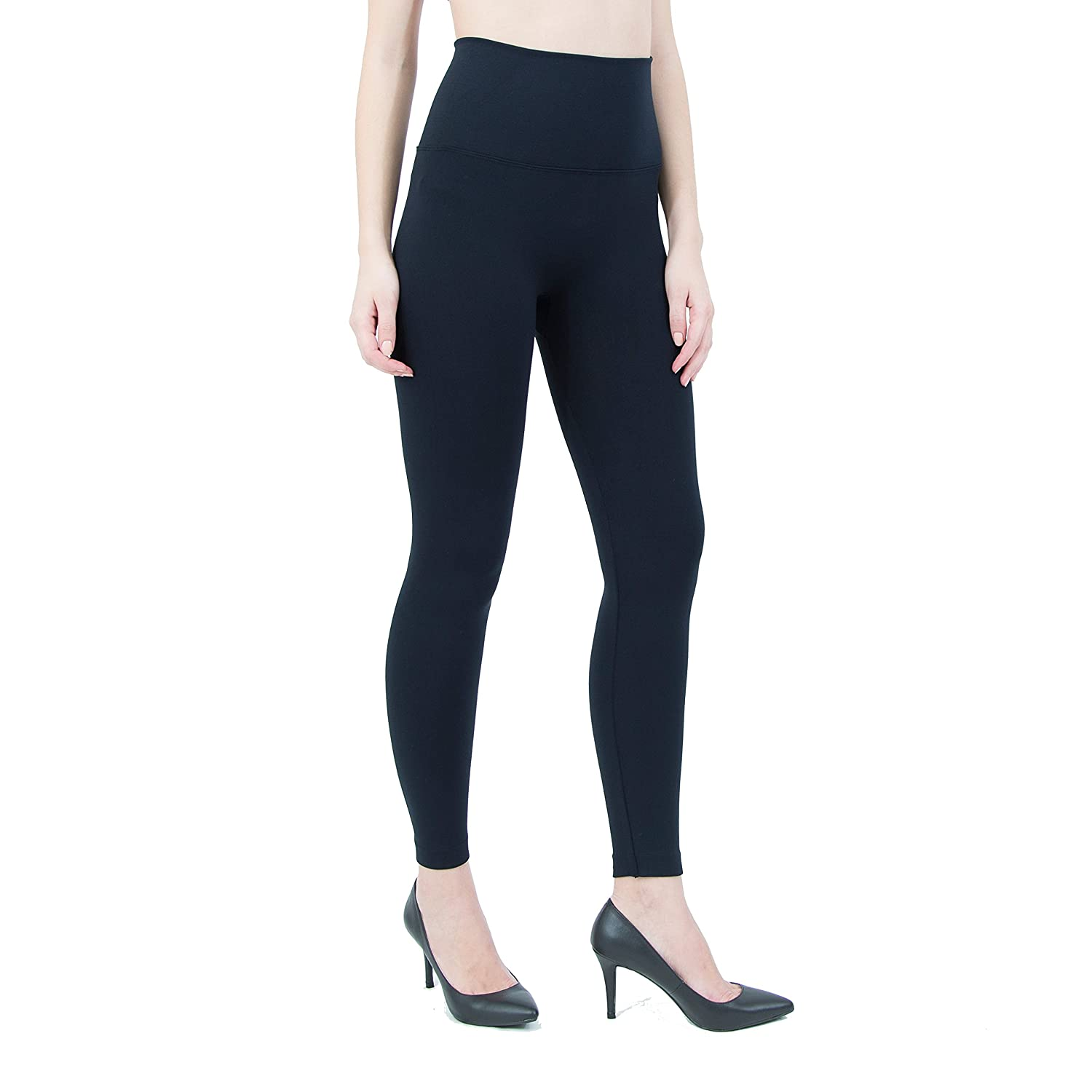 066e2e1fbeef6 INDERO Fleece Lined Leggings with High Waist at Amazon Women's Clothing  store: