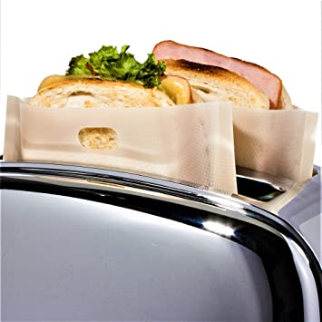 Juego de 12 bolsas de tostadora reutilizable para queso a la ...