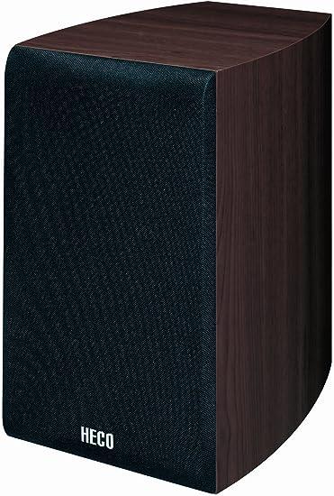 Heco Victa 201 - Altavoces verticales (2 vías, 60 W, 2 unidades), color negro: Amazon.es: Electrónica