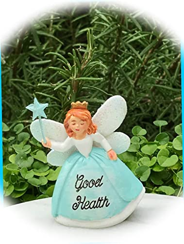 New Fairy Garden Miniature Garden Figurine Fairy Godmother Good Health Dollhouse Magic Scene Supplies Accessories Na-0531F