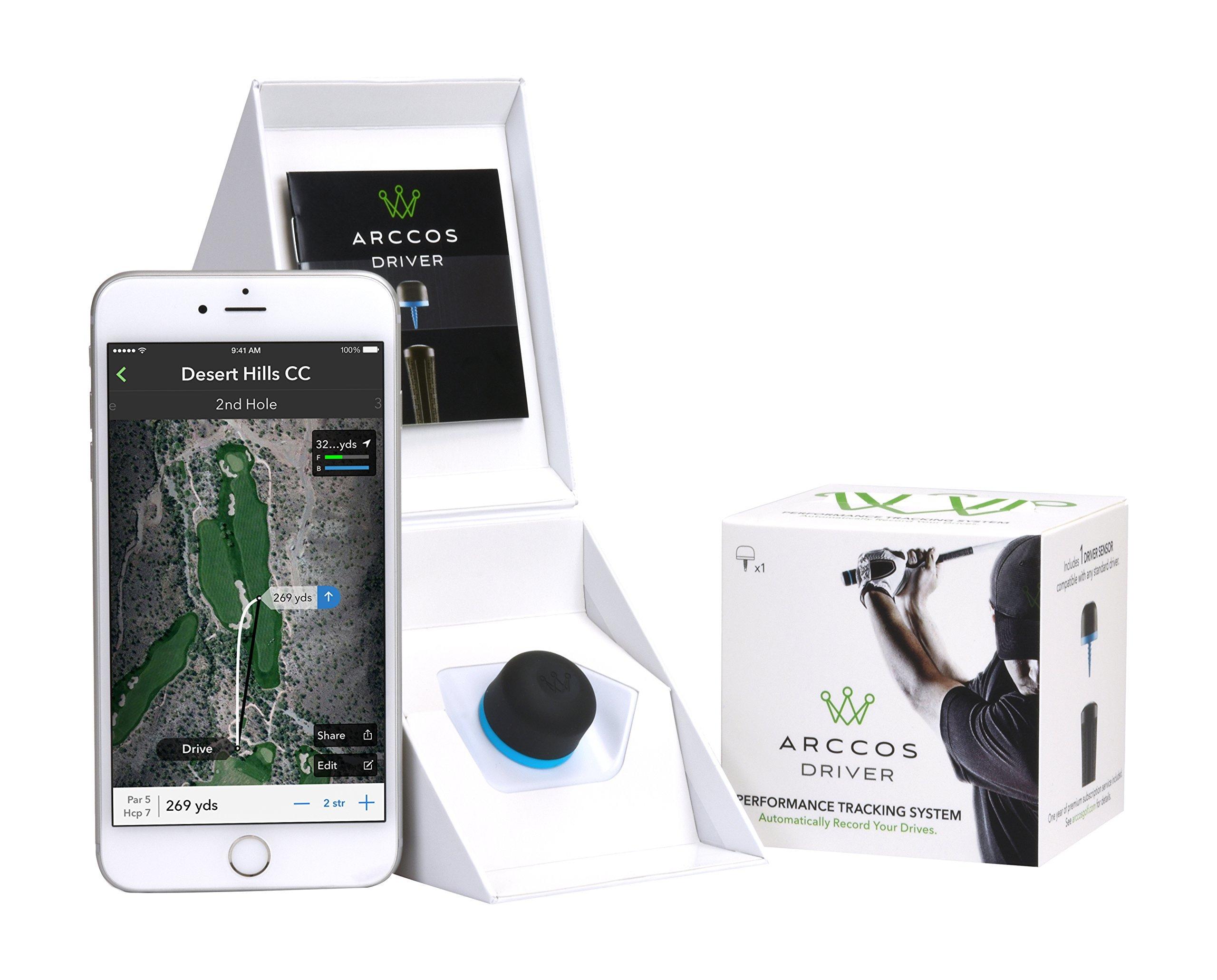 Arccos Driver Golf GPS Shot Tracker