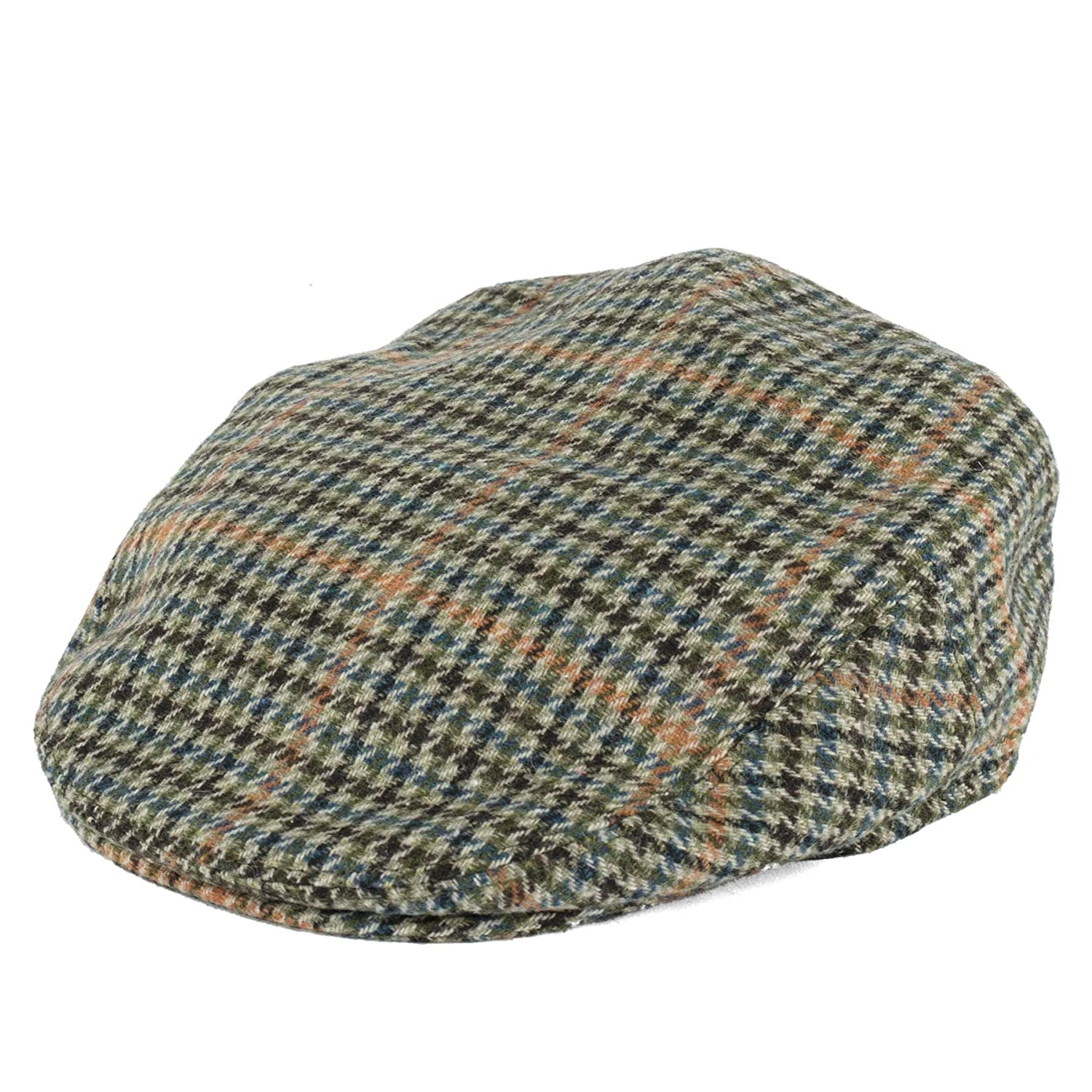 94791a807c6 Amazon.com  Hat To Socks Dogtooth Pattern Ivy Flat Cap  Clothing