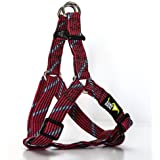 5280DOG Red Braided Step-in Harness