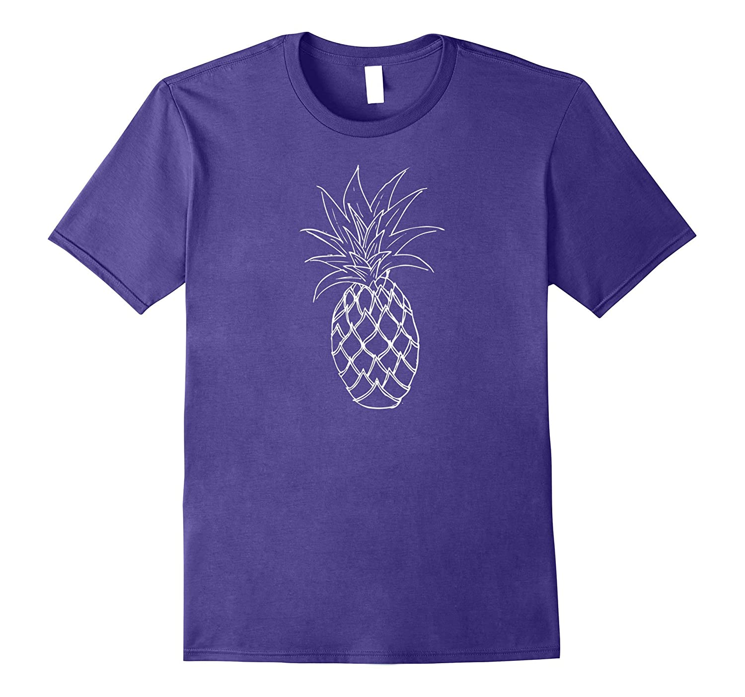 Pineapple Shirt Cute Fruit Gift for Boho Hipster or Foodie-Vaci