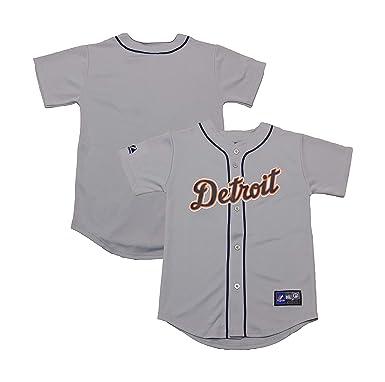 official photos a90f3 df3e4 Amazon.com: Detroit Tigers Word Mark Blank Gray Infants ...
