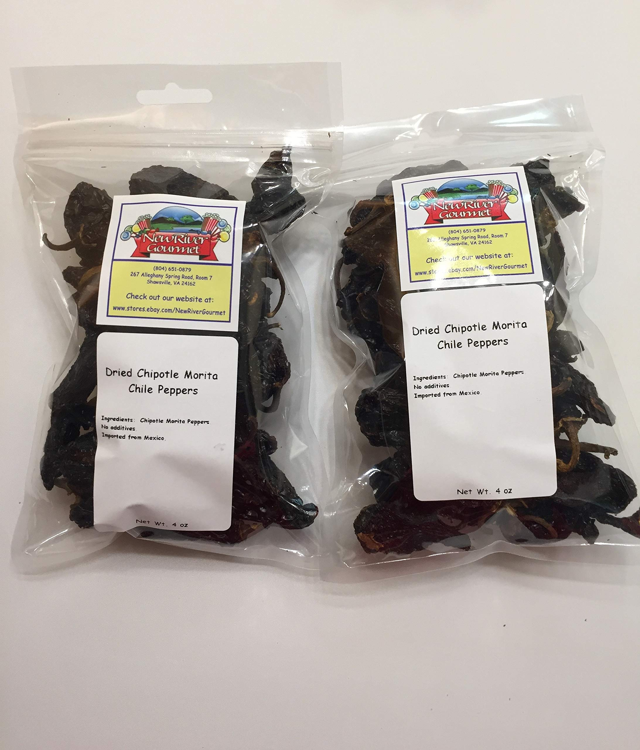 Whole Chipotle Morita Chiles From Mexico (4 ounces (Pack of 2))