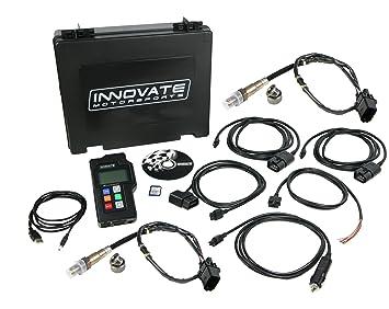 Innovate Motorsports 3807 LM-2 Digital Dual Air/Fuel Ratio Wideband Meter  (2 O2 Sensors) and OBD-II Scan Tool